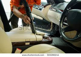 Interior Car Shampoo Professional Car Cleaning Stock Images Royalty Free Images