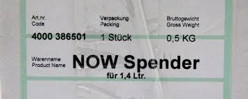 designer seifenspender now modern designer seifenspender 1 4l schwarz 117 x 122 x 285