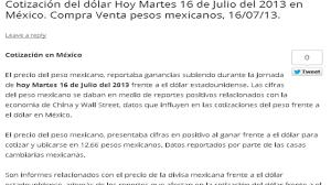 imagenes positivas para hoy martes precio del dólar en méxico hoy martes 16 de julio del 2013 youtube