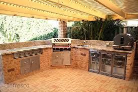 diy outdoor kitchen cabinets building a brick outdoor kitchen outdoor designs