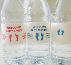 amazon com 20 personalized footprint themed waterproof water