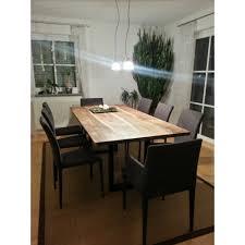 Esszimmertisch Walnuss Tisch Aus 4000 J Altenmooreiche Luanna Design Möbel Tische