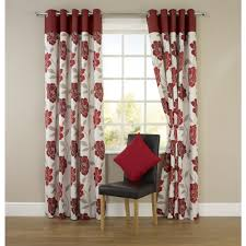 Cream Blackout Curtains Eyelet by Molly Floral Eyelet Curtains Red 117cm X 137cm Home Pinterest