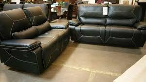 Black Leather Reclining Sofa And Loveseat Magnificent Black Leather Recliner Sofa Black Leather Reclining