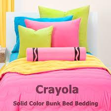 Solid Colored Comforters Crayola Solid Color Bunk Bed Cap Comforter Sets Bunk Beds Bunker