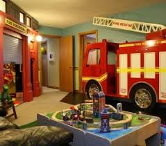 Best Fire Truck Bedroom Theme Images On Pinterest Firetruck - Firefighter kids room
