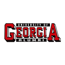 uga alumni car tag of alumni bar decal dawgwear uga