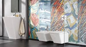 Modern Bathroom Tiles Uk Bathroom Modern Bathroom Featuring Arts Reverie Porcel Thin