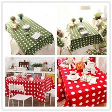 red white polka dot table covers green and white polka dot tablecloths rectangle large table cover