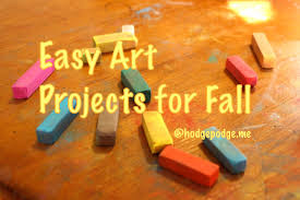 easy art projects for fall hodgepodge