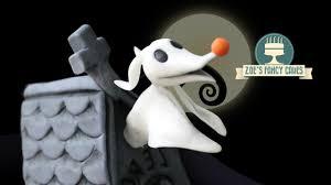 Zero Cake Topper The Nightmare Before Christmas Halloween Youtube