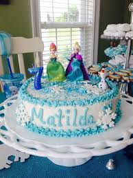 119 frozen cake images frozen party queen