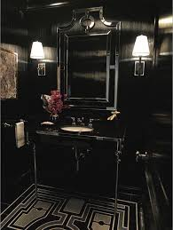 Black Bathroom Ideas Design Accessories  Pictures Zillow - Black bathroom design ideas