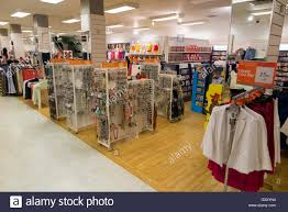 inside interior of a bhs british home stores uk store shop