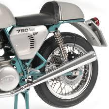 ducati 750 super sport 1977 silver blue minichamps motociclo