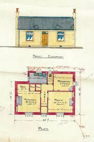 Train Station Floor Plan by Agents House Killearn Railway Station 1911