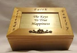 personalized wooden keepsake box personalized wooden keepsake box key to happiness