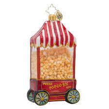 christopher radko ornaments radko pop popcorn ornament 1018433