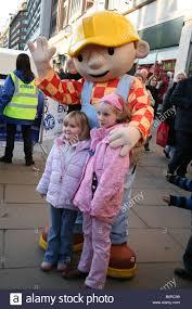 bob builder character poses children oxford street