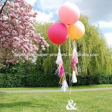 jumbo balloons new party decoration ideas tasselled helium balloon