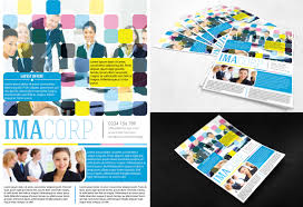 free psd flyer colorful corporate flyer by printdesign on deviantart