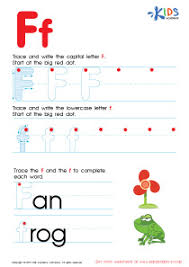 abc alphabet worksheets letter f tracing pdf damian