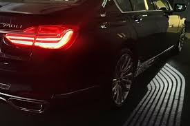 bmw s new 7 series illuminates a path to your car s door at