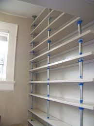 Pantry Shelf Seesaws And Sawhorses Pantry Shelves Done