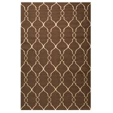 Houndstooth Home Decor by Linon Home Decor Salonika Houndstooth Brown 5 Ft X 8 Ft Area Rug