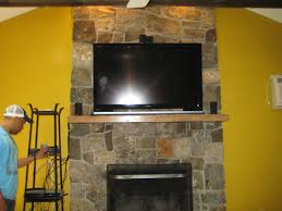 decoration vinatge mounting tv above fireplace decor for your