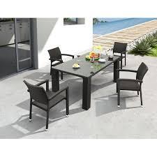 Resort Style Patio Furniture Outdoor Dining Scenario Home