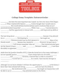 what to include in a college application résumé college
