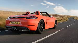 red porsche boxster 2017 porsche 718 boxster s 2016 review by car magazine