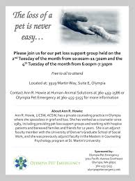 the loss of a pet the loss of a pet is never easy raintree veterinary center