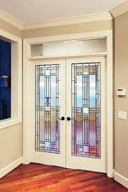 Interior French Doors Toronto - beautiful stained glass designs for above internal double doors