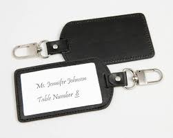 luggage tag favors leather luggage tag favors