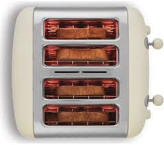 Dualit Stainless Steel Toaster Buy Dualit Dl4c 4 Slice Toaster Cream Free Delivery Currys