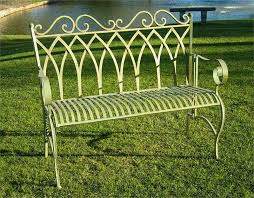 Antique Cast Iron Garden Benches For Sale by Best Wrought Iron Outdoor Bench Gothic Vintage Outdoor Foldable