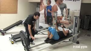 total gym basic demonstration youtube