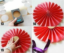how to make a paper fan how to make paper medallions paper medallions simple projects and