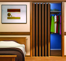 collapsible closet doors accordion folding closet doors wood