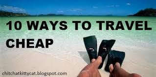 10 ways to travel cheap there are some awesome ideas for going