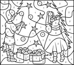 christmas tree coloring printables apps kids