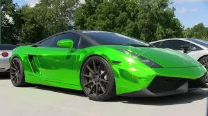 nissan chrome chrome green lamborghini gallardo 1 dream cars wish list