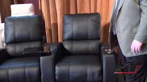 home theater seating sectional home theater furniture by palliser playback youtube