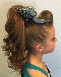 barrel curl ponytaol cheerleader hairpieces posh pony human hair ponytails all star
