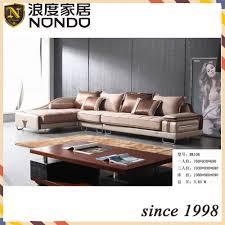 l shaped sofa morden design low backrest living room sectional