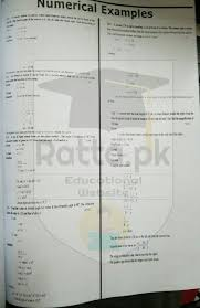 10th physics chapter 12 geometrical optics numerical problems