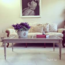 lilyfield life dark wax adding patina to a french style coffee table
