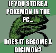What If Dinosaur Meme - top 10 twitter pics of the week digimon pokémon and twitter